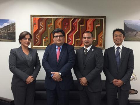 2017年3月6日ランゲージワンは在名古屋ペルー総領事館を訪問しました
