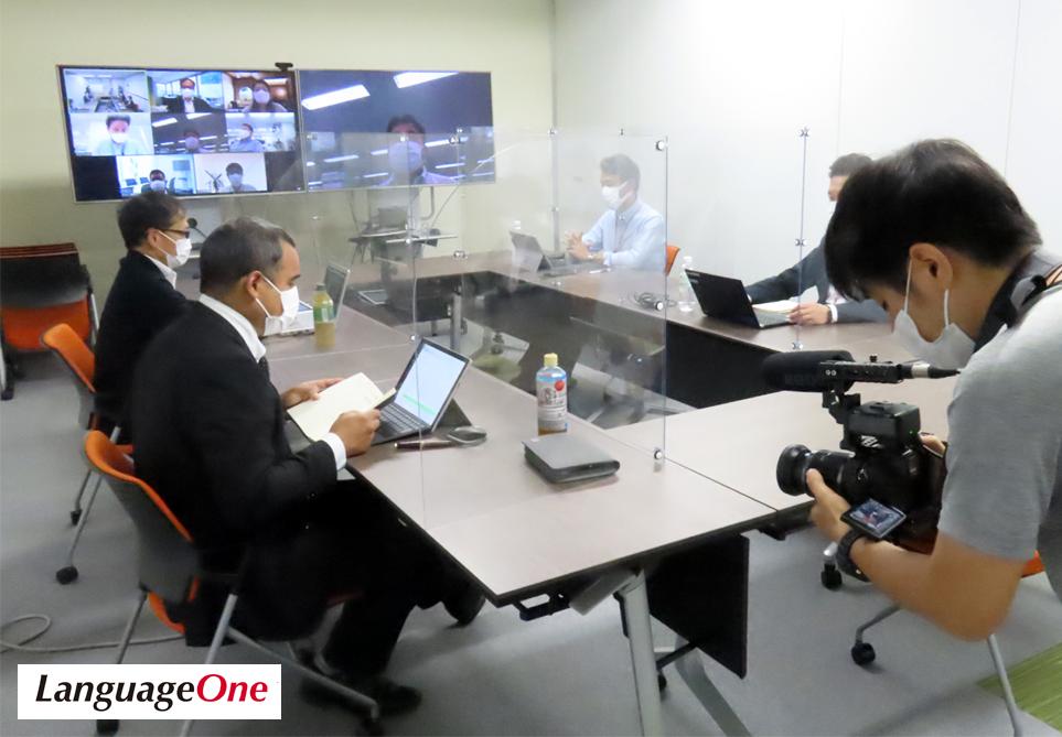 ランゲージワンの カブレホス・セサル社員が NHK WORLD-JAPAN に出演いたしました